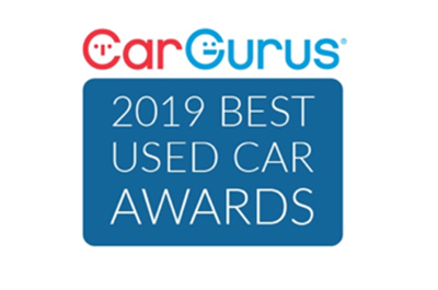 2019 CarGurus Best Used Car Award