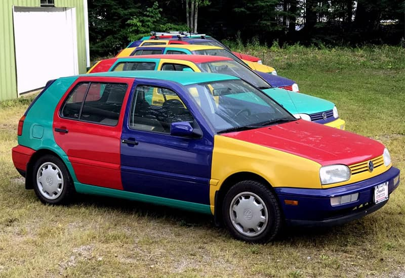 Volkswagen Golf Colors