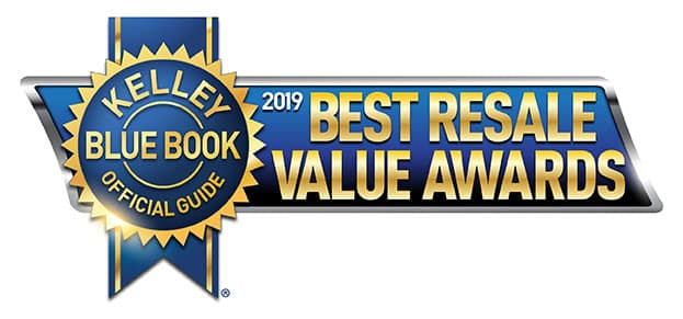 Kelley Blue Book 2019 Best Resale Value Awards Best Luxury Midsize SUV/Crossover