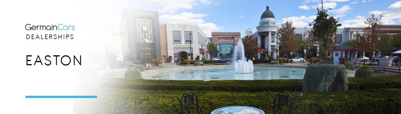 Germain Dealerships in Easton Town Center Ohio