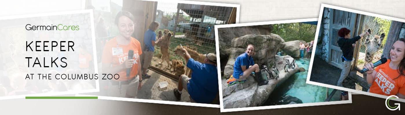Germain Columbus Zoo Keeper Talks