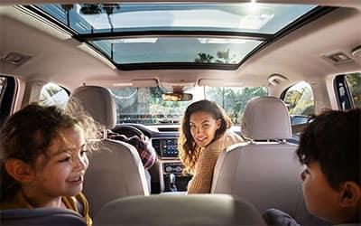 Volkswagen Atlas Rear Seating