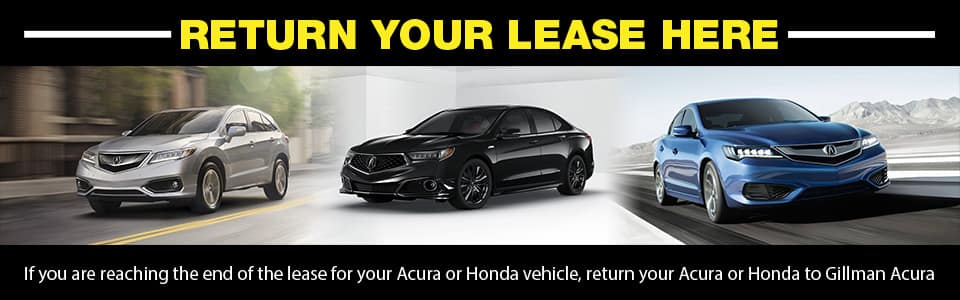 Gillman Acura Honda Lease Return Center Houston TX