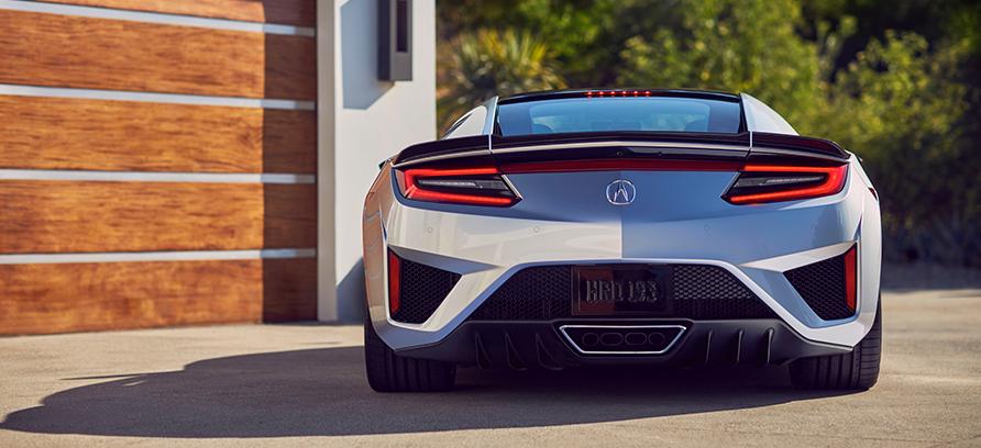 2019 Acura NSX back | Gillman Acura