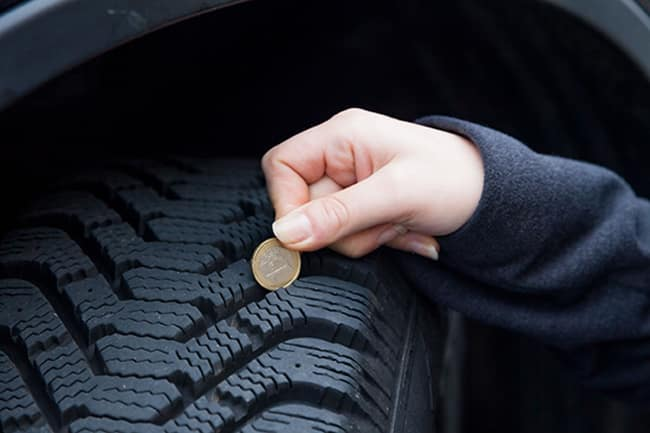 simple ways to check tire tread depth | Gillman Acura