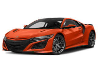 2019 Acura NSX Coupe angled