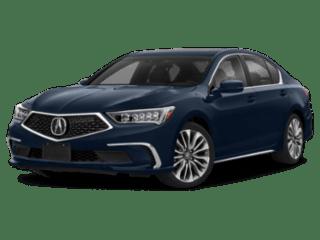 2019 Acura RLX Sedan angled