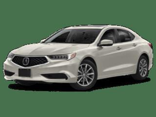 2019 Acura TLX angled