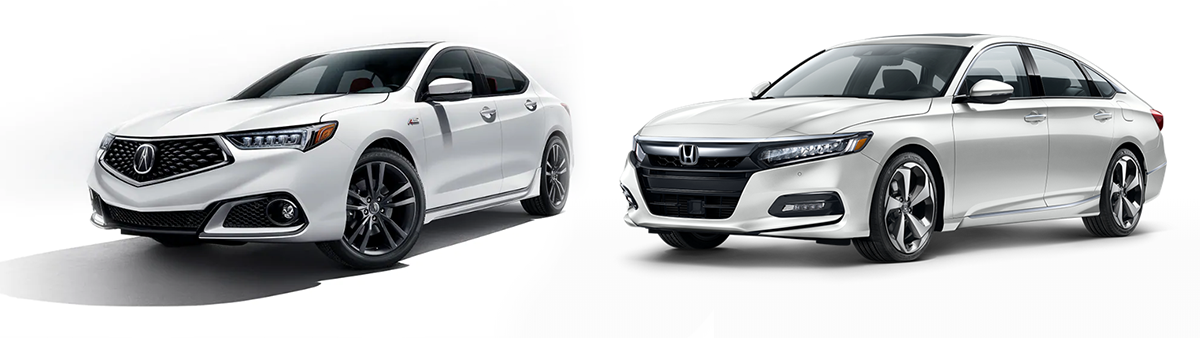 2019 acura tlx vs honda accord comparison