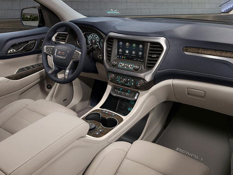 2021 GMC Acadia features and equipment