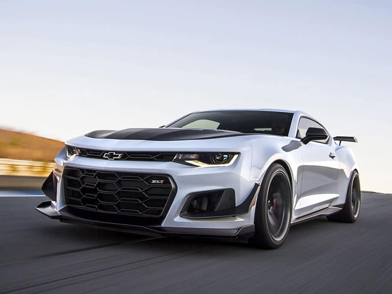 2021 Chevrolet Camaro powertrains