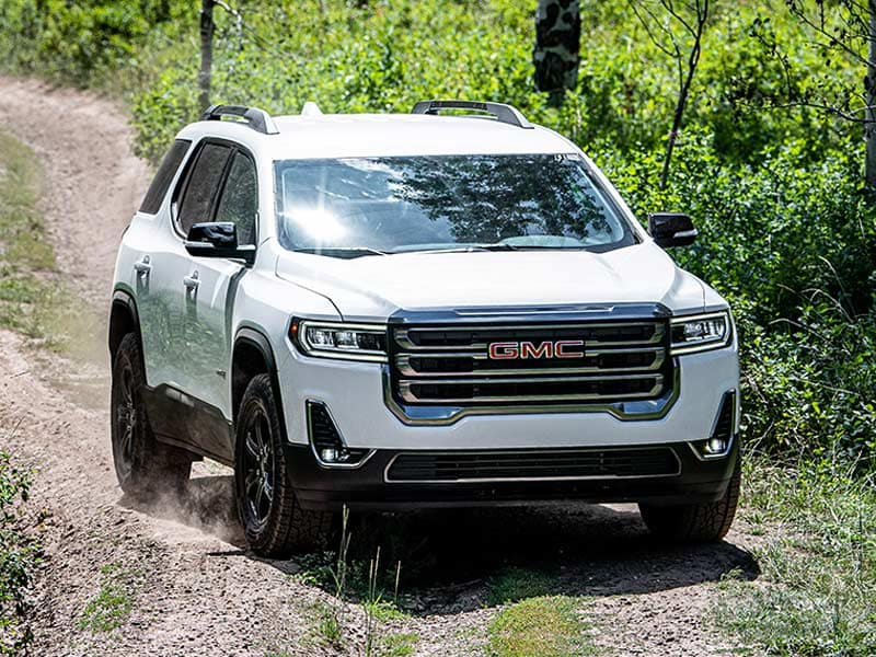 2021 GMC Acadia engines and owertrains