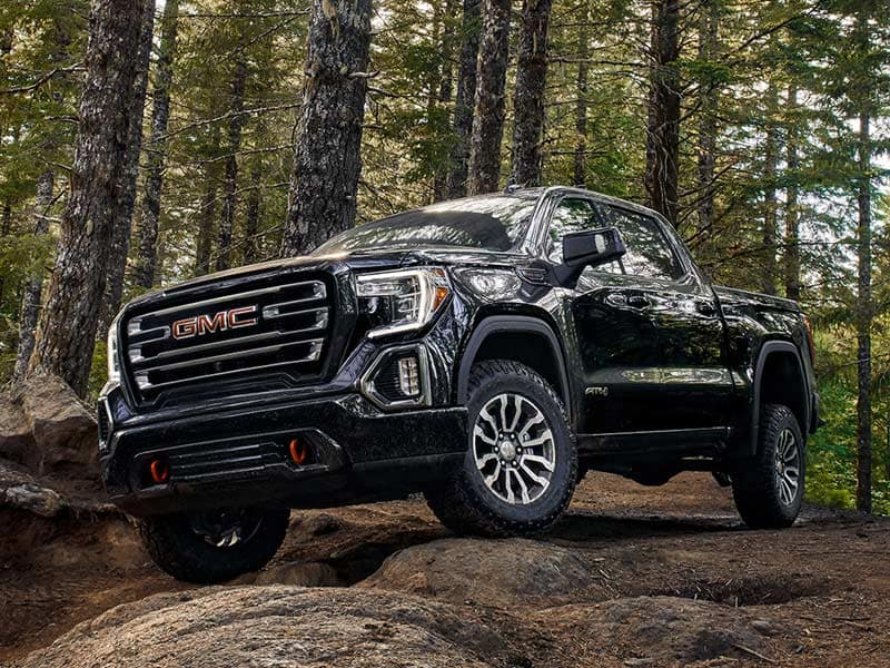 2021 GMC Sierra 1500 Powertrains