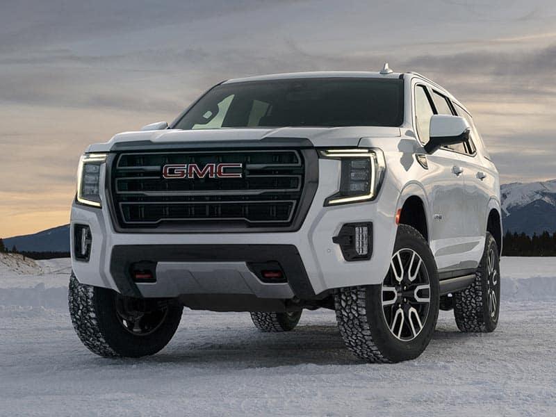 2021 GMC Yukon styling
