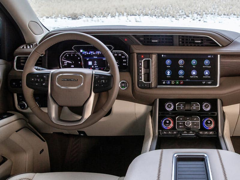 2021 GMC Yukon trim levels