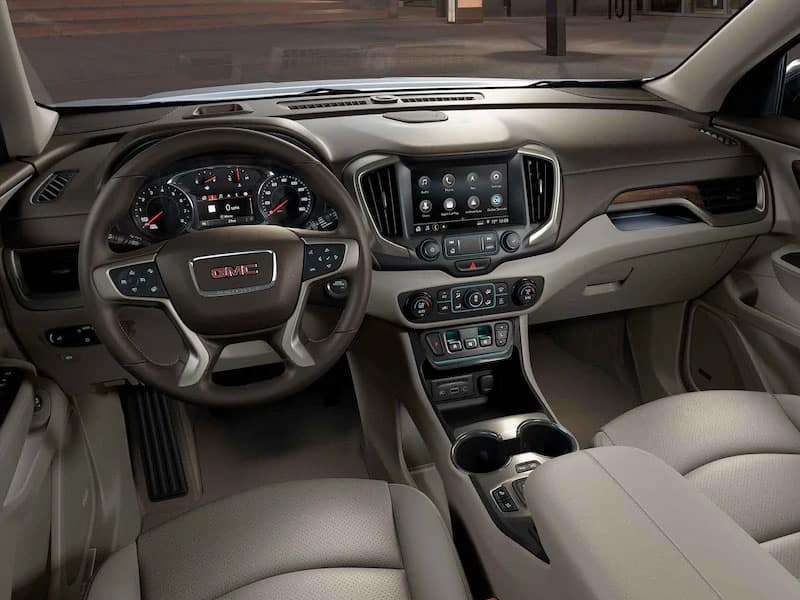 2021 GMC Terrain Features and Equipment
