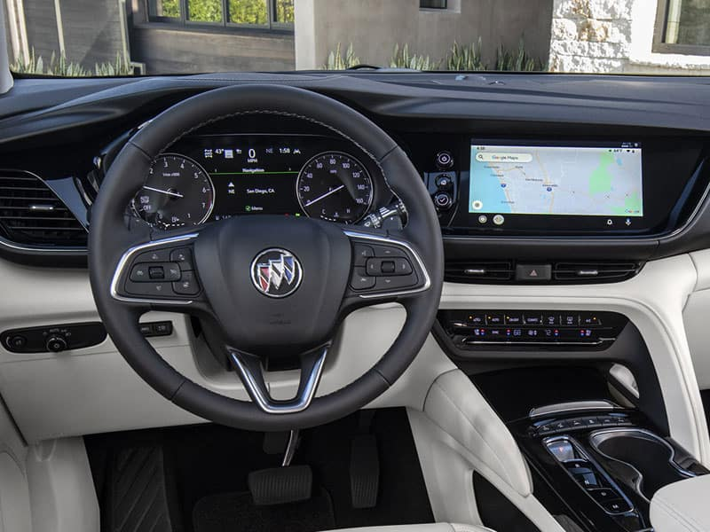 2021 Buick Envision Features and Equipment