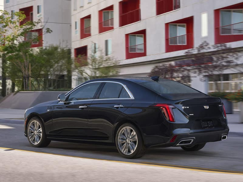 2021 Cadillac CT4 Engines and Performance