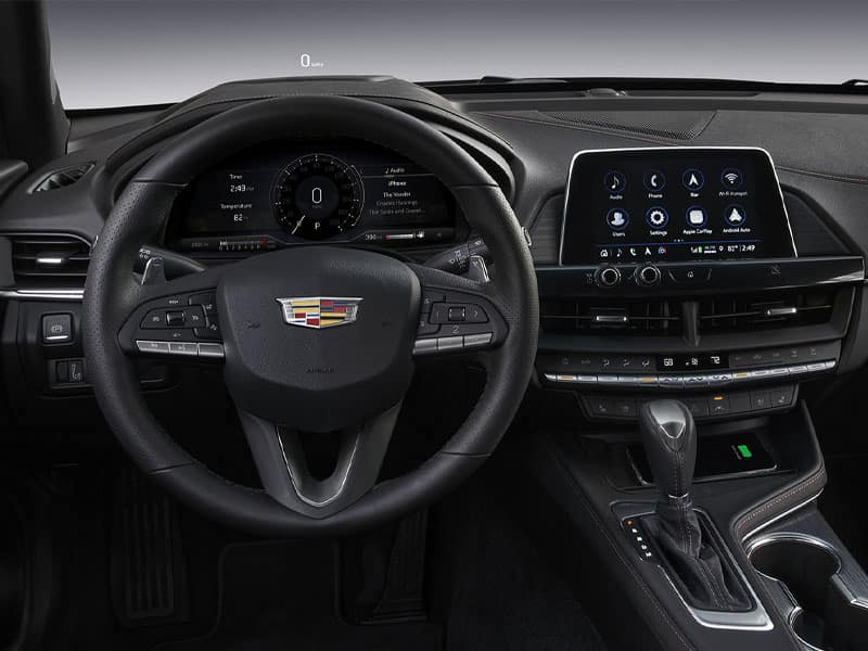2021 Cadillac CT4 Features and Equipment