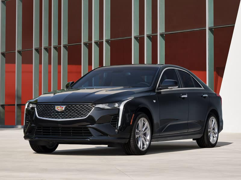 2021 Cadillac CT4 Trim Levels and Styling
