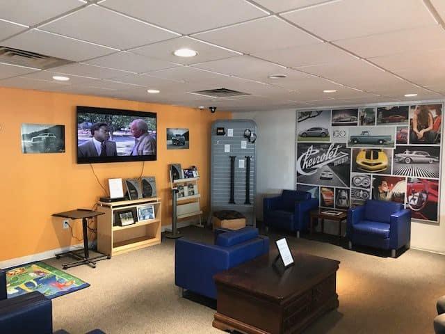 GR Customer Lounge