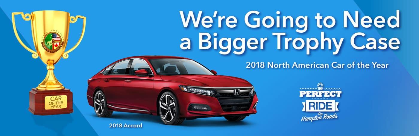 Honda Lease Specials. 2018 Honda Accord North American Car Of The Year