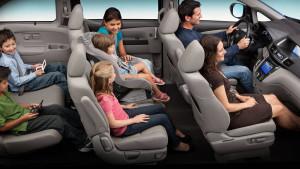 2017 Honda Odyssey Interior Seating