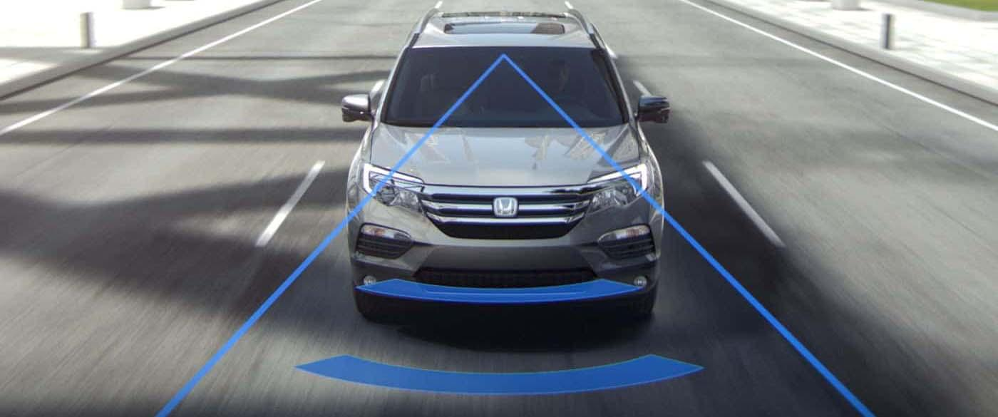 Honda Pilot Collision Mitigation Braking System