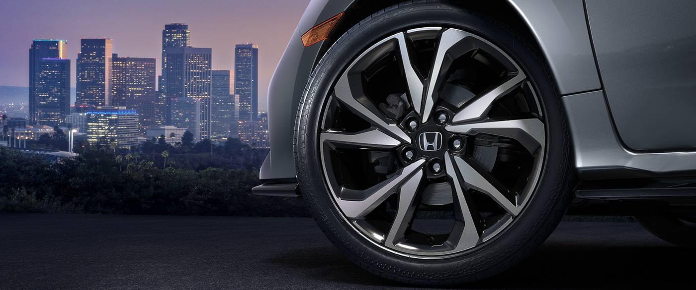Honda Civic Hatchack Tire Pressure Monitoring System