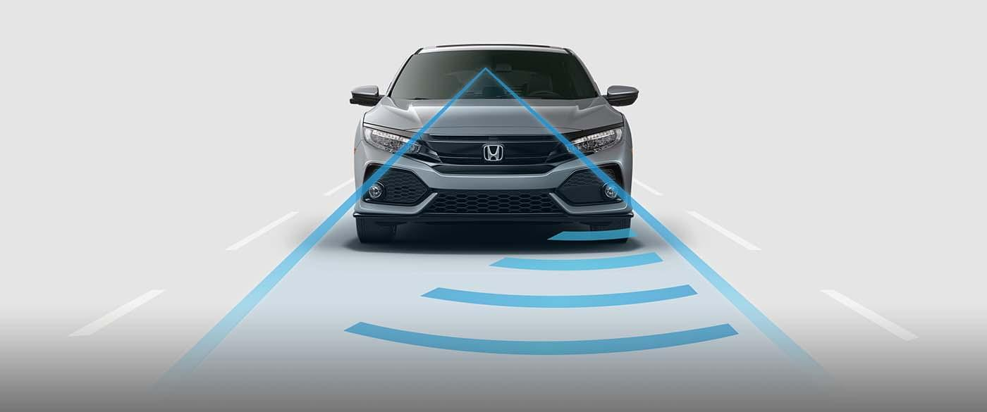 Honda Civic Hatchback Adaptive Cruise Control