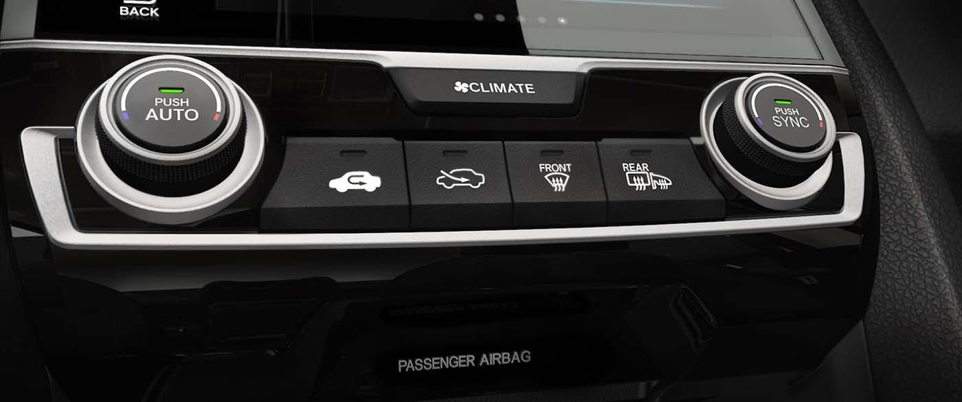 Civic Hatchback Automatic Climate Control