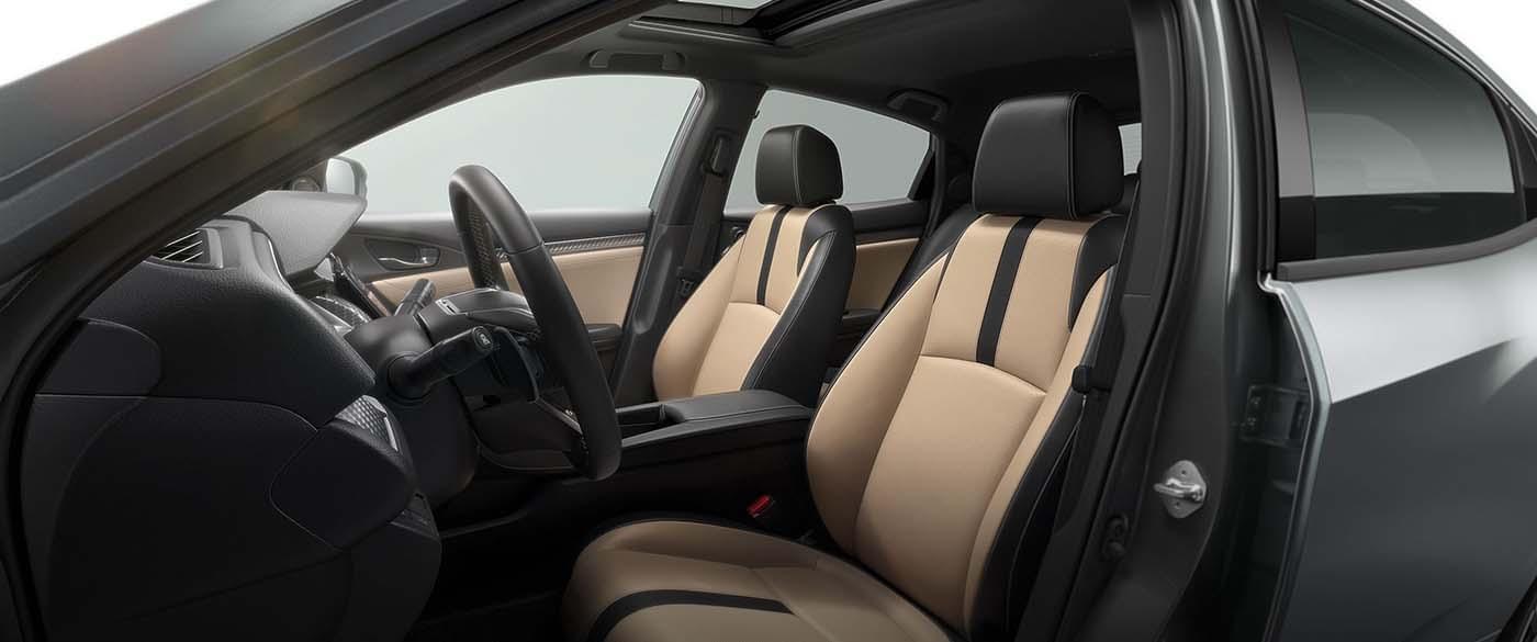 Honda Civic Hatchback Seating