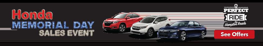 Hampton Roads Honda Memorial Day Sales Event