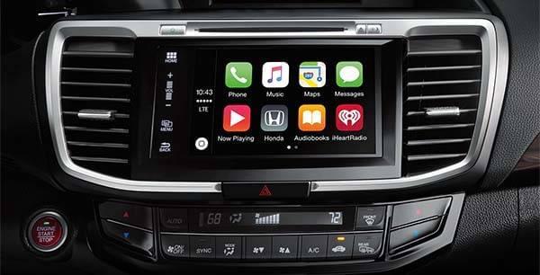 Honda Accord Sedan Apple Carplay