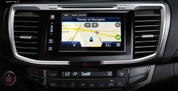 Honda Accord Sedan Navigation