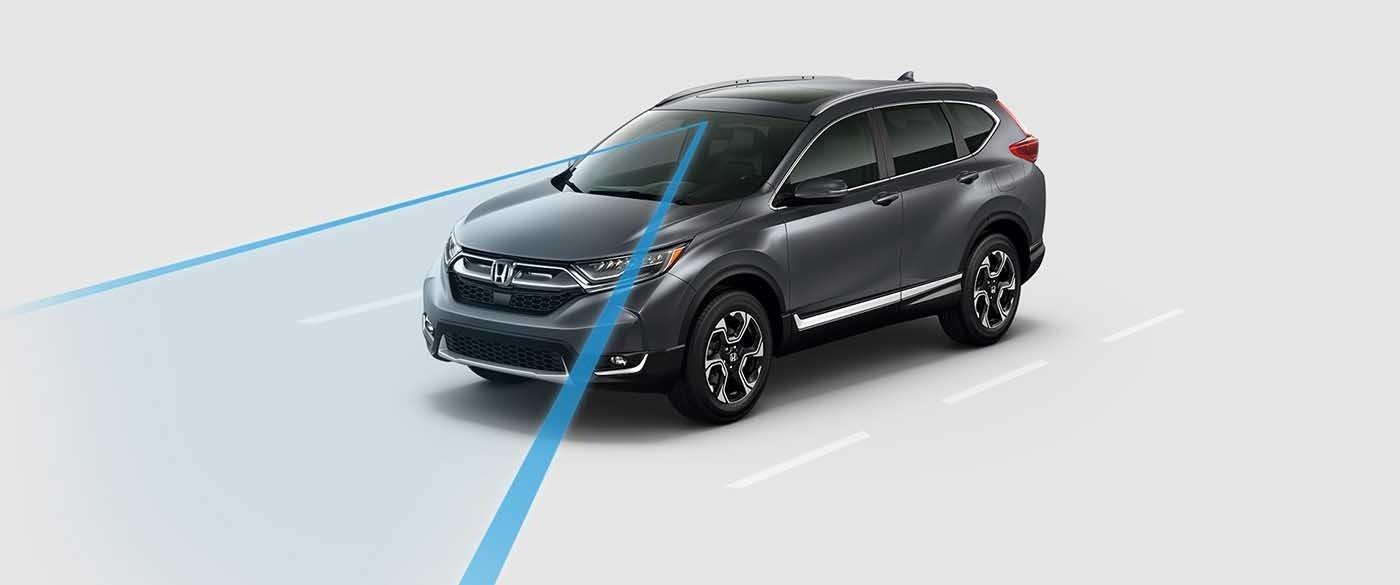 2017 Honda CR-V Road Departure Mitigtation System