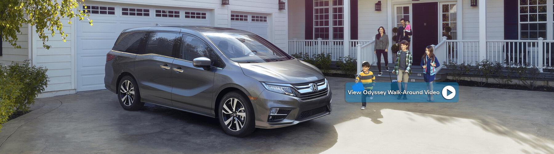 2018 Honda Odyssey Banner