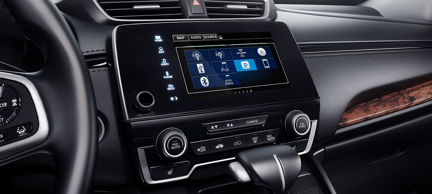 2017 Honda CR-V Radio Options