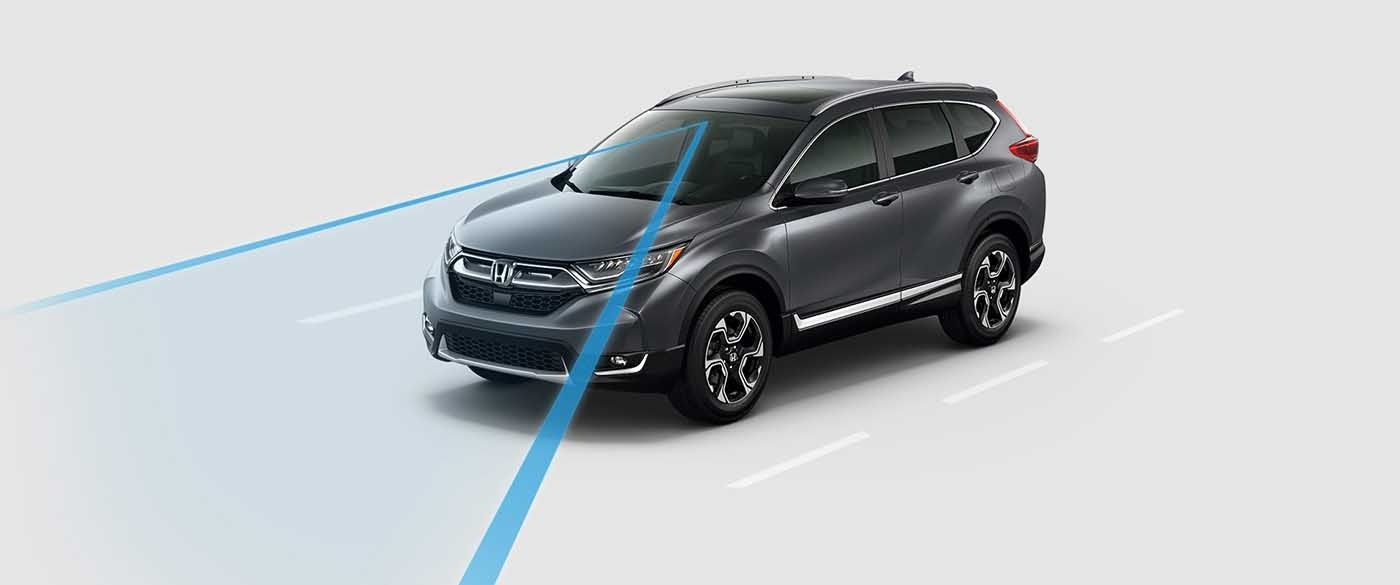2017 Honda CR-V Road Departure Mitigation System