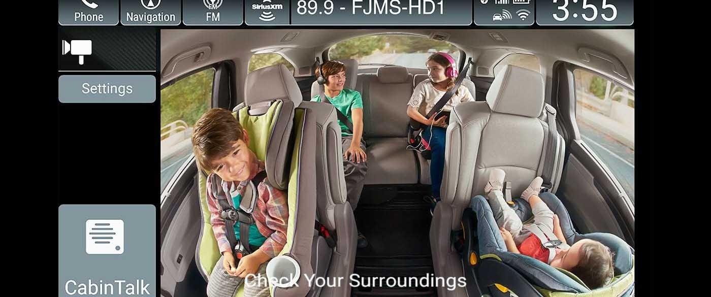 2018 Honda Odyssey Cabin Watch