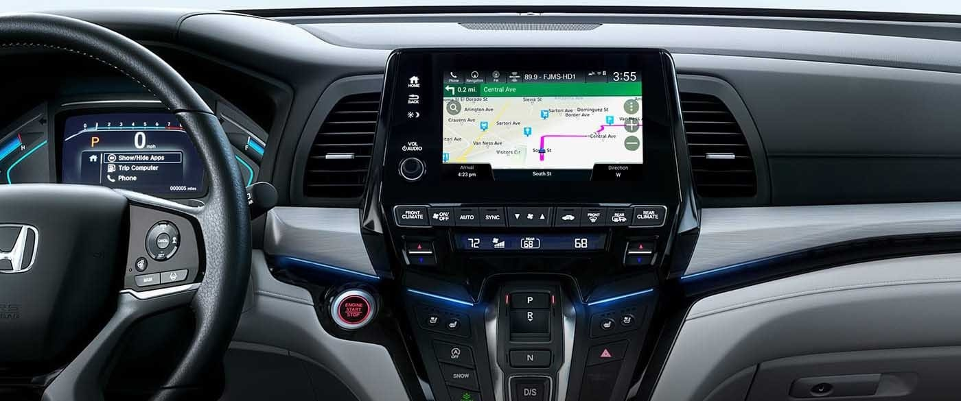 2018 Honda Odyssey Navigation