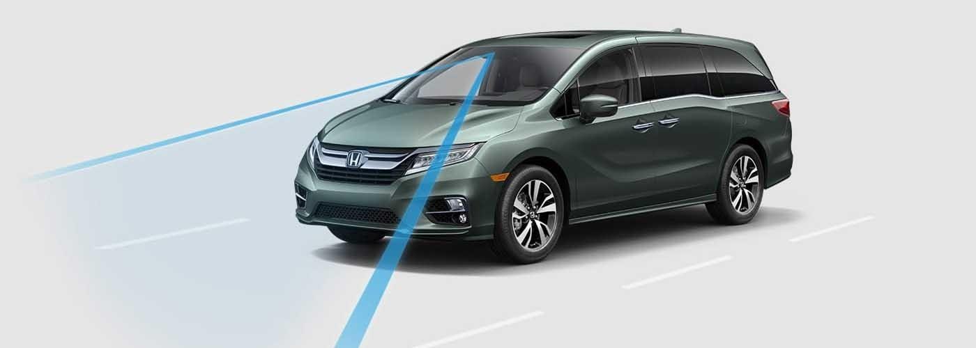 2018 Honda Odyssey Road Departure Mitigation
