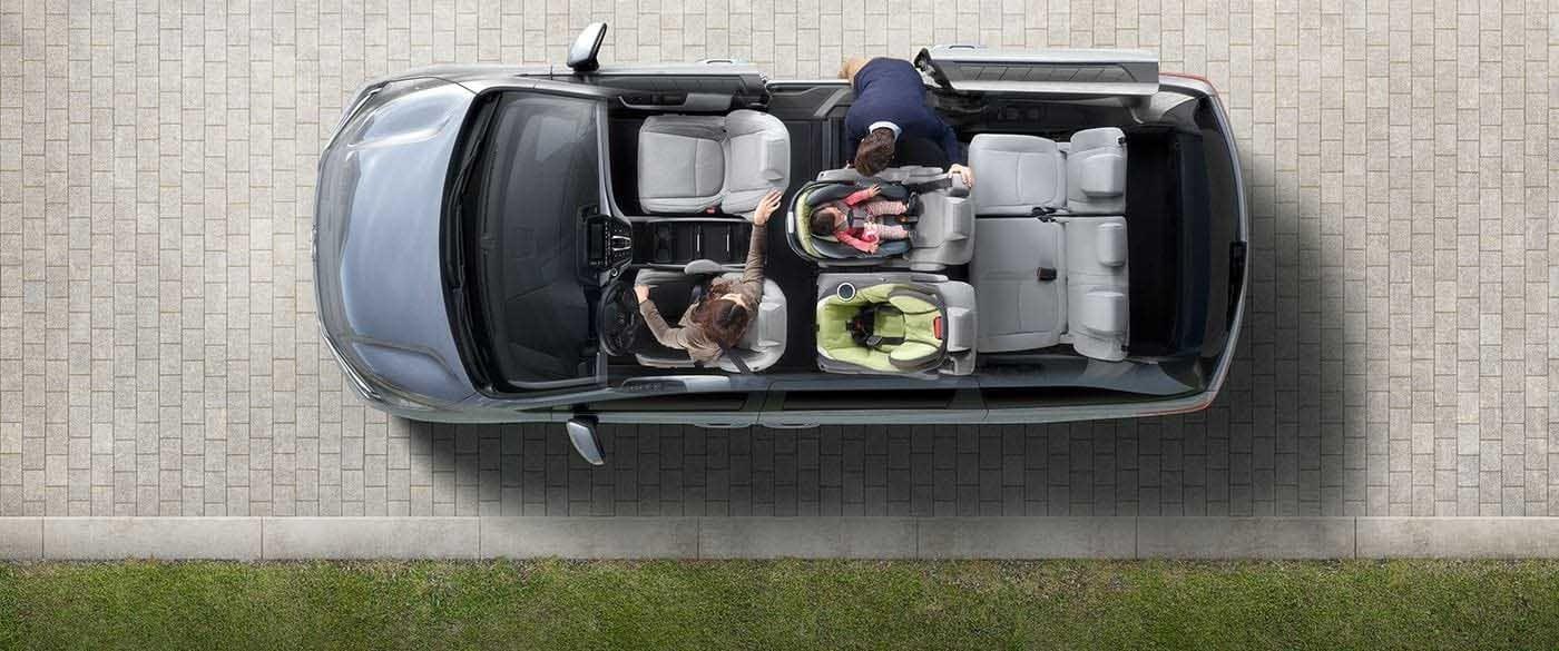 2018 Honda Odyssey Seat Configurations