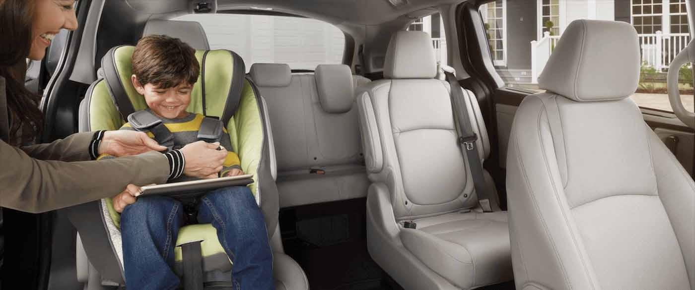 Honda Odyssey Airbag and Seatbelt Safety