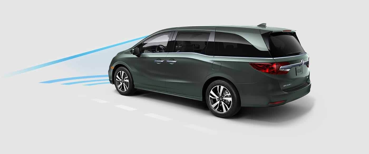 Honda Odyssey Collision Mitigation Braking System