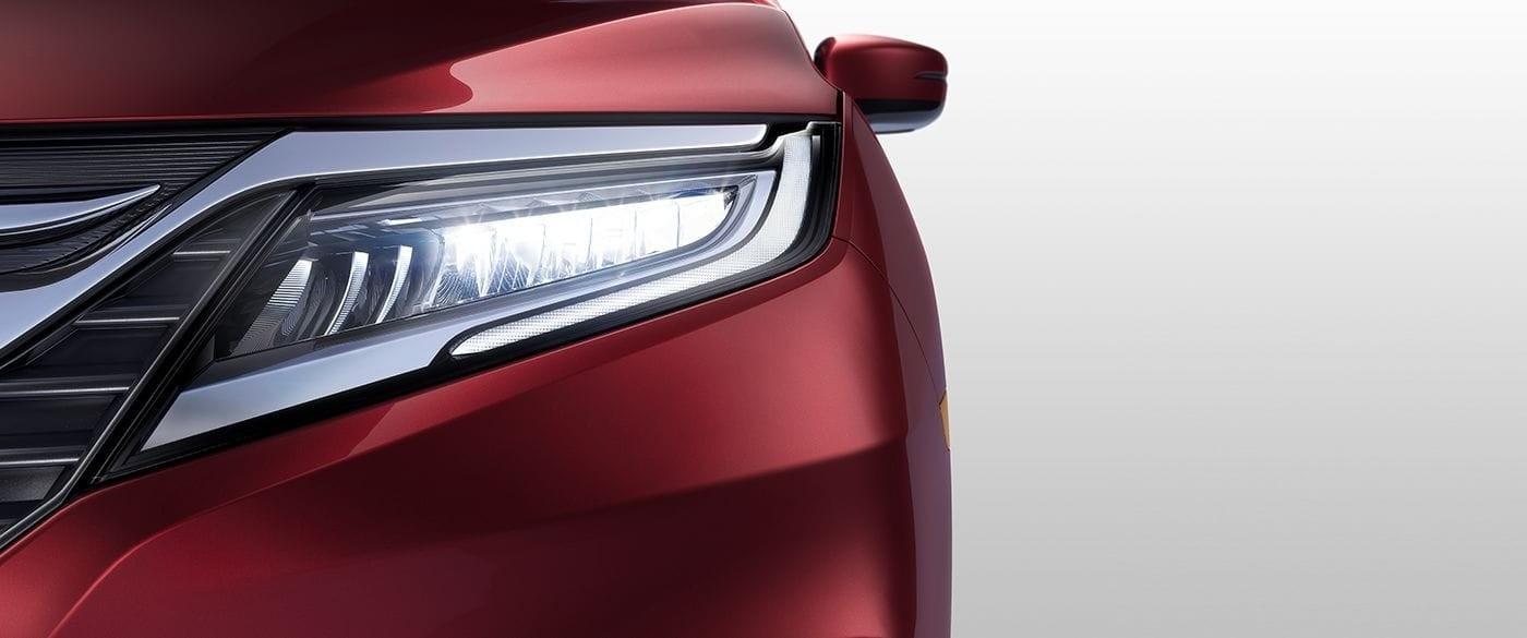 Honda Odyssey High Beam Headlights
