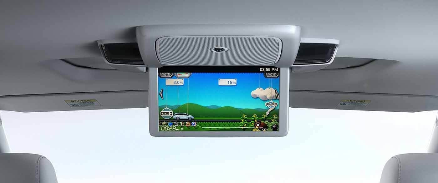 Honda Odyssey Rear Entertainment System