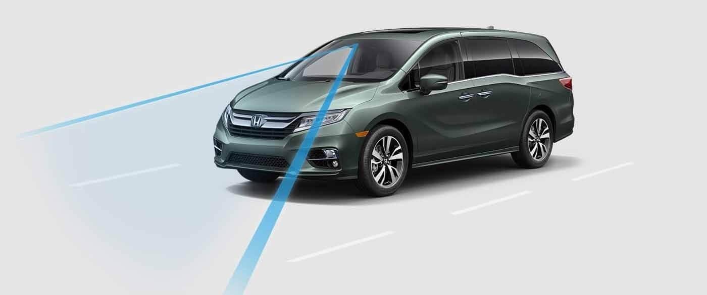 Honda Odyssey Road Departure System