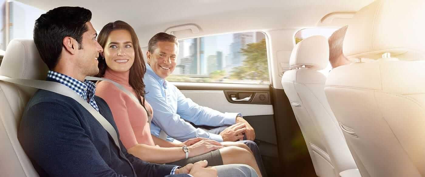 Honda Clarity Interior