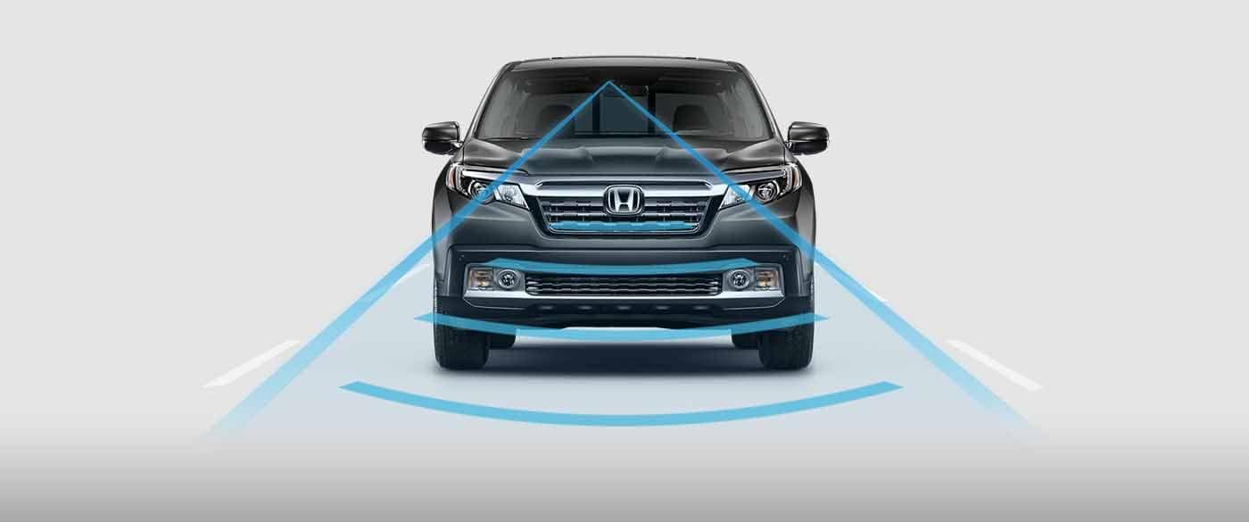 Honda Ridgeline Collision Mitigation Braking System